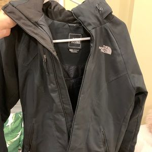 North face winter water resistant coat